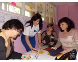 """У  Чугуєві завершився тренінг за проектом """"Вчимося жити разом"""" для вихователів ДНЗ"""