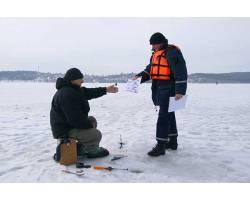 Рятування потерпілих на льоду