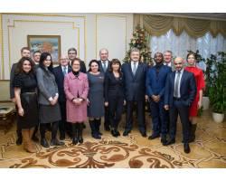 Президент України офіційно закрив Рік англійської мови в Україні