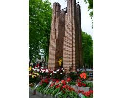 Сьогодні 26 квітня 2016 року відбувся мітинг-реквієм біля пам'ятного знаку загиблим чорнобильцям.