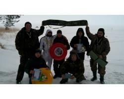 городские соревнования по зимней рыбалке