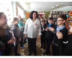 Детская Чугуевская библиотека в День Святого Валентина провела конкурсно-игровую программу