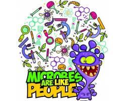 «Ландау-центр» запрошує дітей безкоштовно відвідати виставку «Мікроби як люди»