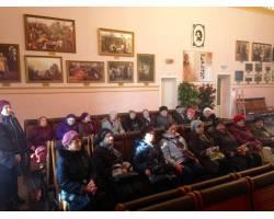 Територіальний центр соціального обслуговування (надання соціальних послуг) Чугуївської міської ради організував та провів екскурсію на базі  Університету ІІІ віку