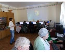 В Територіальному центрі соціального обслуговування (надання соціальних послуг) Чугуївської міської ради продовжує свою роботу проект «Вільний простір».