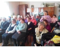 У Територіальному центрі соціального обслуговування (надання соціальних послуг) Чугуївської міської ради відбувся урочистий концерт для підопічних, присвячений Міжнародному Жіночому Дню 8 березня.