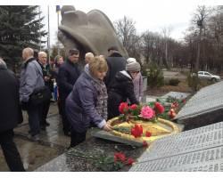 святкове засідання активу Чугуївської міської організації ветеранів України