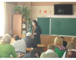 Черговий тренінг для вчителів, які готують учнів до ЗНО
