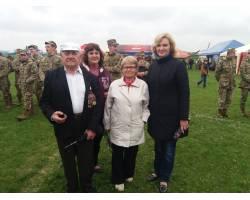 Чугуївські ветерани - авіатори 7 травня 2016 року відвідали Харківський «Фестиваль авіації»