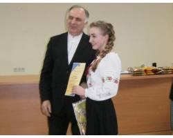 Учениця ЗОШ № 7 – краща у конкурсі з українознавства