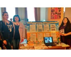 Команда раннього втручання презентувала свої послуги на ярмарку здоров'я в Чугуєві
