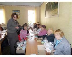 поздравление подопечных Территориального центра социального обслуживания